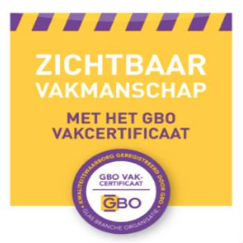 gbo aangesloten glasbedrijf